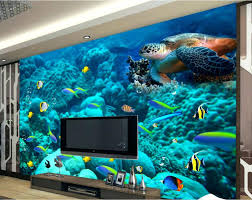 wall mural ocean custom boiler com 3d photo wallpaper custom wall mural ocean world european style wallpaperchinawall murals scenes