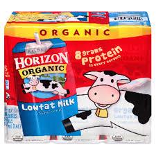 horizon organic low fat milk box 6 pack meijer com