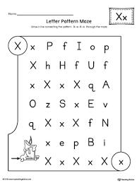 alphabet letter hunt letter x worksheet myteachingstation com