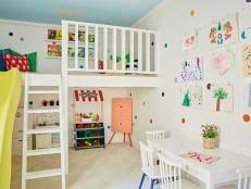 kids play room 45 small space kids playroom design ideas hgtv