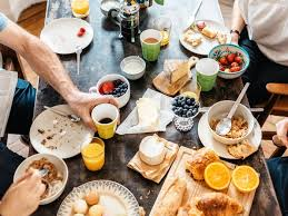 brunch table the dos and don ts of potlucks cooking light