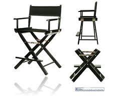 Professional Makeup Artist Chair Wood Directors Chair Ebay