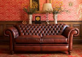 canap chesterfield 2 places cuir canapé chesterfield en cuir 2 places marron winthorpe