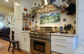 kitchen mural ideas tile murals for kitchen backsplash kitchen tile mural idea for