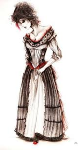 Sweeney Todd Halloween Costume Concept Art Colleen Atwood Lovett Nouveau Riche