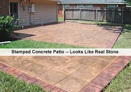 Austin Decks And Patios Austin Stamped Concrete Patios Atx Concrete Atxconcrete Com