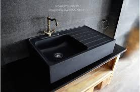 Cheap Kitchen Sinks Black Black Onyx Granite Black Granite Kitchen Sink Mount Single Bowl