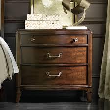 hooker palisade 3 drawer nightstand walnut hayneedle