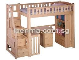 Loft Bed With Closet Underneath Wardrobes Loft Bed With Wardrobe And Futon Loft Bed Singapore