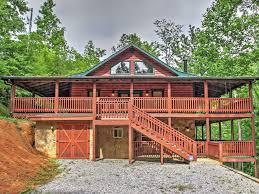 wraparound deck serene 3br sevierville cabin near big homeaway sevierville