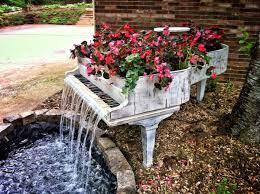 Home Decor Fountain Home Decor Idea Old Piano Transformed Into A Fountain Women U0027s