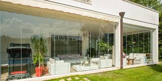 veranda a libro vetrata panoramica a pacchetto vetrata panoramica tutto vetro
