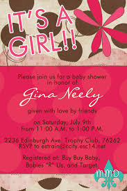 baby shower invitations at party city custom baby shower invitation u2013 merely madison designs