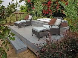 ground level deck designs diy building patio design ideas floating