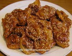 cuisine maghreb chebakia cuisine marocaine la cuisine a zineb