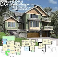 slope house plans house plan awesome plans on hill slopes design up slope beautiful