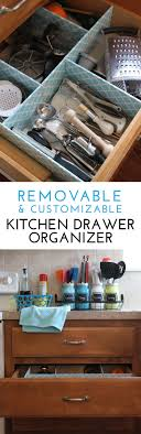 kitchen drawer organizer ideas to make a customizable kitchen drawer organizer