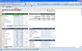 Excel Spreadsheet Household Budget by 15 Free Personal Budget Spreadsheet Excel Spreadsheet Part 11