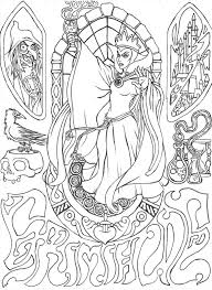 disney villains coloring pages google search disney villions