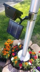 Garden Led Solar Lights by Best 25 Flagpole Lighting Ideas On Pinterest Solar Lights For