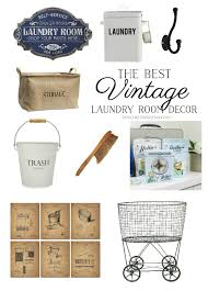 Vintage Laundry Room Decorating Ideas by The Best Vintage Laundry Room Decor Giveaway So Much Better