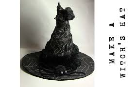 how to make a witch costume how to make a witch u0027s hat youtube