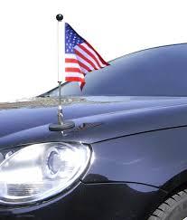 Flag Pole Express Amazon Com Magnetic Car Flag Pole Diplomat 1 Usa Outdoor Flags