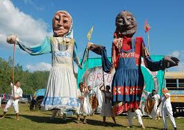 circus puppets bread and puppet theater brings puppets and political satire