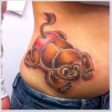 pics photos cute monkey tattoo crazy monkey tattoo stencils