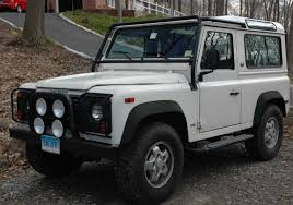 land rover defender 90 lifted 1995 land rover defender information and photos zombiedrive