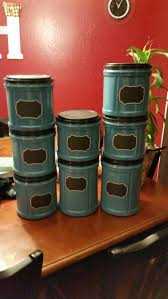 diy office storage from folgers coffee containers 1 can of