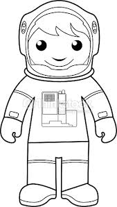 astronaut coloring page astronaut coloring page for kids vector art thinkstock