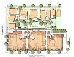 building site plan city row apartment wisconsin site plan