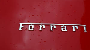 ferrari logo ferrari logo on car stock video footage videoblocks