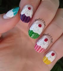 nailed it nz nail art for short nails 6 cupcake nails