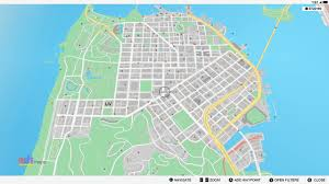 Hop On Hop Off San Francisco Map by Unique Vehicle Collection Locations Guide Watch Dogs 2