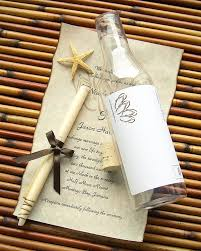 Wedding Invitations With Free Response Cards Amazon Com Message In A Bottle Destination Wedding Invitation