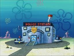 bottom police department encyclopedia spongebobia