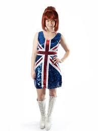 union jack halloween costume ginger spice girls costume creative costumes