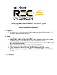table tennis doubles rules table tennis doubles rules edit fill out top online forms