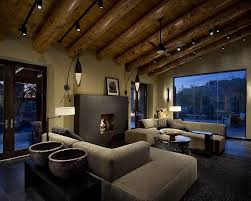 track lighting in living room interior track lighting living room with cream upholstery sofa