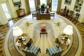 bureau ovale maison blanche président par libération