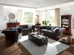 echtleder sofa sofa garnitur chesterfield ii 1 2 3 echtleder braun chesterfield