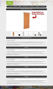 modern furniture theme ebay custom listing template design ebay