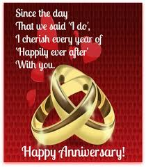 anniversary card for message happily after anniversary greeting card quotes i like