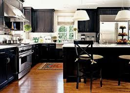 Kitchen Black Cabinets White Kitchen Floors White Kitchen Black Floors