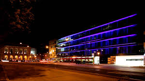 Exterior Led Strip Lighting Chuck Howard Associates Led Rgb Exterior Facade Youtube