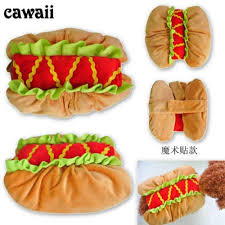 Sandwich Halloween Costume Hotdog Sandwich Costume Pet Dog Cat Cute Halloween Costume Xs