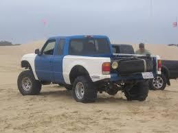 Ford Ranger Drag Truck - sand paddle tires archive dezertrangers