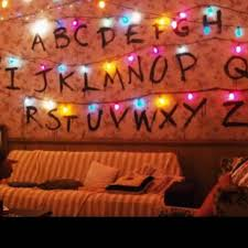 stranger things alphabet removable wall letters small zoom